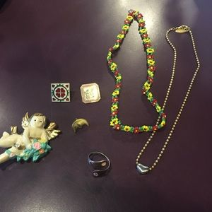 Accessories - Floral Jewelry Set (7 piece)